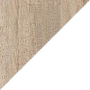 корпус дуб сонома / фасад белый