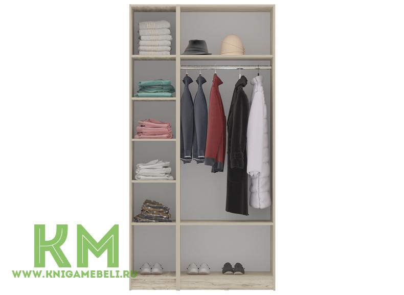 Шкаф 3-дверный Венеция К-3 купить недорого онлайн