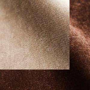 Бежево-коричневый микровельвет