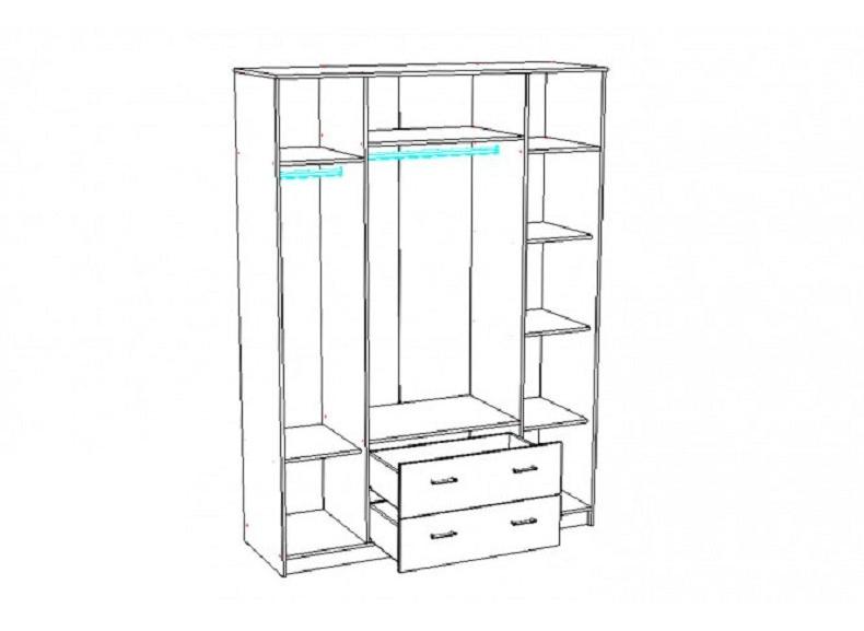 шкафы шкаф 4 дверный бланка купить недорого онлайн книга