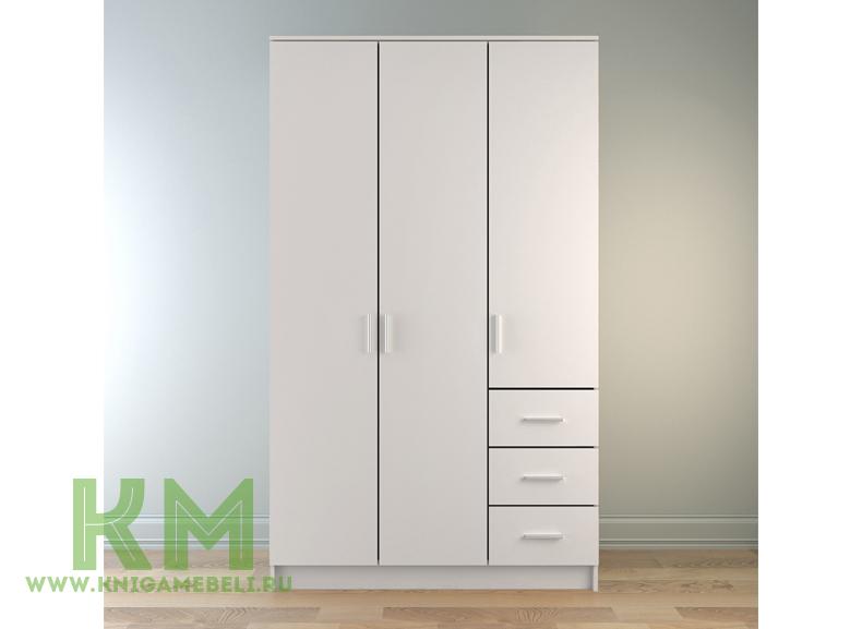 Шкаф Лофт 3х дверный