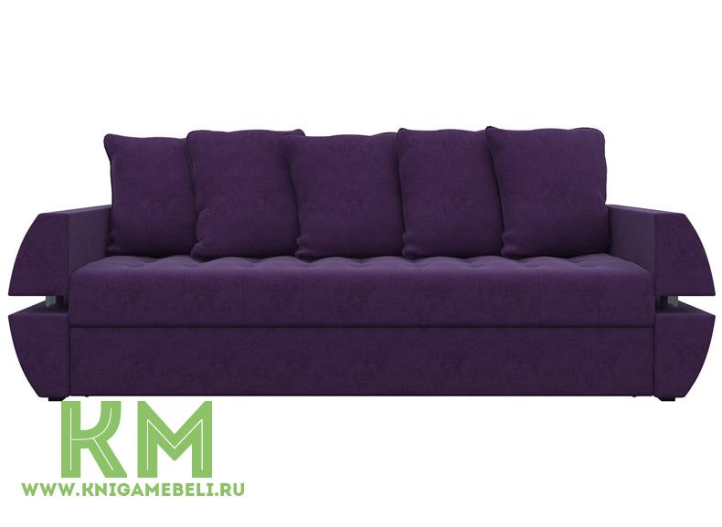 Диван Атлант Т фиолетовый микровельвет
